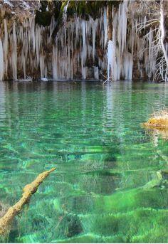 mountain mineral lake in Colorado