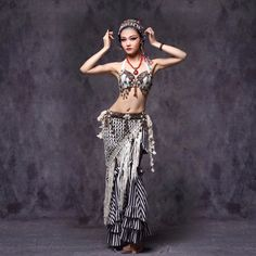 >> Click to Buy << 2017 New Ladies Women Belly Dance Costumes performance 3Pcs Genie Cinto Saia Cigana Tribal fusion Belly Dance Fan Indian Dress #Affiliate