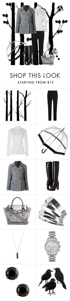 """Winter"" by misshonee ❤ liked on Polyvore featuring Dot & Bo, Paul Smith Black Label, Lauren Ralph Lauren, Fulton, FAY, Burberry, River Island, Topshop, Karen Kane and Michael Kors"