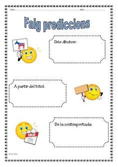 Estrategies lectores . Organitzadors grafics Language, Map, Activities, School, Texts, Graphic Organizers, Reading Comprehension, Initials, Writing
