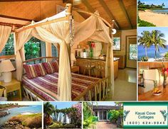 Image of Kauai Cove Cottages attractive tropical interior