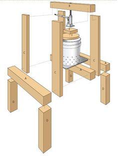 http://blog.quartoknows.com/quartohomes/2014/08/04/build-an-easy-diy-cider-press/352/