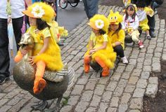 Hands down one of my fav Boston traditions: the annual Make Way for Ducklings parade! | Universal Hub