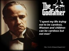 "Movie Quotes and Dialogues: Some Great Quotes from movie ""The GodFather"""