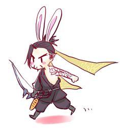 Bunny-Hanzo, my 666th pin on this board.