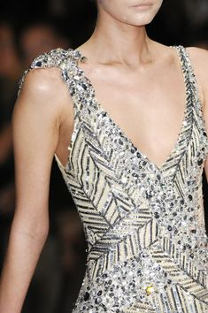 Elie Saab Couture Details, Spring 2008 - Elie Saab's Most Beautiful Runway Details of the Decade - Photos
