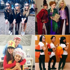 The best Halloween costumes for a group of three friends.