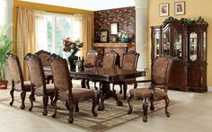 Cromwell 9 Pcs Dining Table