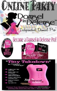 I Do ONLINE Parties!! Anywhere in the USA!! Home Defense, Self Defense with Damsel in Defense Shop online 24/7 at www.mydamselpro.net/DIVADEFENSE or message me to book an ONLINE Diva Defense Party and earn FREE Damsel in Defense Products