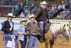 Check out Jack Medow's interview with The American Quarter Horse Journal after taking home the top two spots in reining. #AQHYAWorld