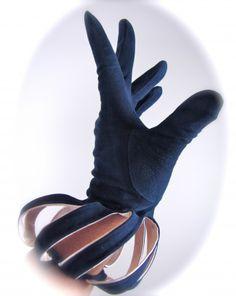 Blue Suede #Gloves