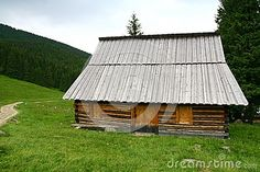 Shepherd hut in the Tatra mountains Poland