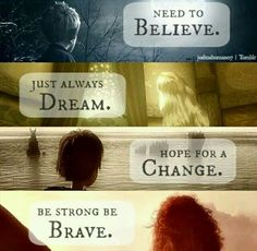 Jack Frost, Tangled, How To Train A Dragon, Brave