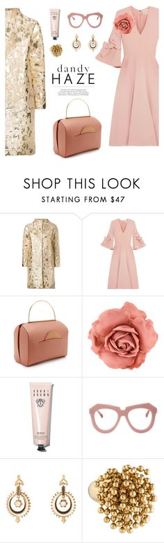 """structured fancies"" by pensivepeacock ❤ liked on Polyvore featuring Gianluca Capannolo, Roksanda, Chanel, Bobbi Brown Cosmetics and Karen Walker"
