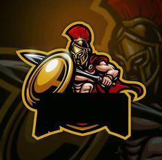 Team Logo Design, Logo Desing, Mascot Design, Spartan Logo, Ninja Logo, Joker Iphone Wallpaper, Esports Logo, Logo Creation, Photo Logo