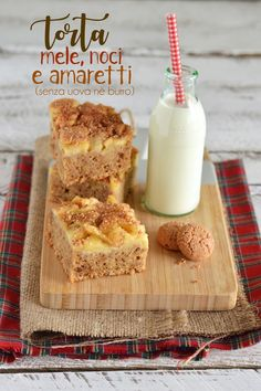 Sprinkles Dress: Torta di mele, noci e amaretti (senza uova, nè burro)