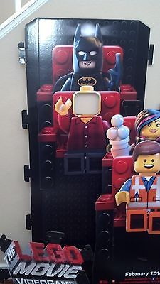 LEGO Promo Display - The Lego Movie Video Game Photo Opportunity Standee RARE