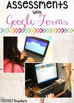 Make assessments paperless using Google Forms! This is a great way to add technology in the classroom!! Try out Google Forms for your next assessment, worksheet, or exit ticket!