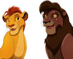by WhitestripesArt on DeviantArt Lion King Tree, Lion King 3, Lion King Fan Art, Disney Lion King, Kiara Lion King, Images Roi Lion, Lion King Series, Easy Disney Drawings, Lion King Drawings