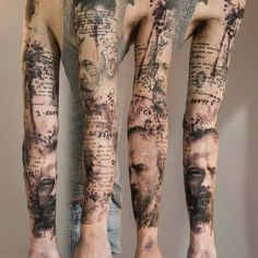 Image result for sleeve tattoos