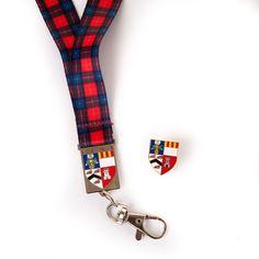 University of Aberdeen Badge and Lanyard