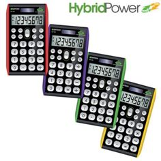 Paquete de 10 calculadoras Datexx practica 8 dígitos, híbrida $1189MXN