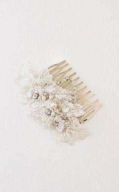 PRESTON Lace Hair Comb Bridal