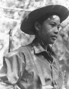 Female NVA ( North Vietnamese Army regular) ~ Vietnam War