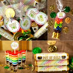 Cute printable St. Patrick's Day labels for Rolos and more
