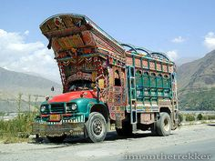 Colorful trucks of Pakistan #pakistan