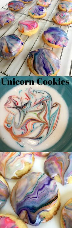 UNICORN COOKIES! Eas