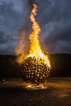 Jaehyo Lee, Artist Homepage | International Fire Sculpture Festival in Jeongseon, South Korea