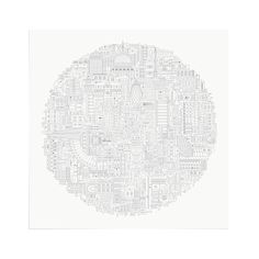 London Circular - Art Print by The City Works.