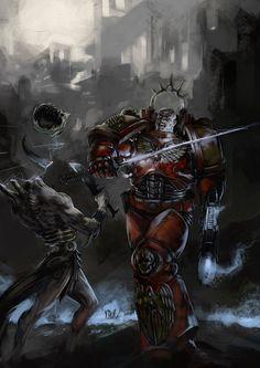 Warhammer 40000,warhammer40000, warhammer40k, warhammer 40k, ваха, сорокотысячник,фэндомы,Blood Angels,Space Marine,Adeptus Astartes,Imperium,Империум,Wrack,Dark Eldar