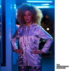 Dark evenings signal the need for reflective trims and fabrics. Retro Jackets, Gym Wear, Athleisure, Sportswear, Awards, Fabrics, England, Dark, Collection