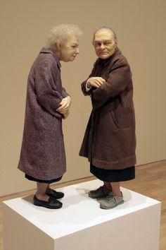 ron mueck | Ron Mueck et ses sculptures hyperréalistes / WoDesign
