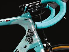 Bianchi have gifted Lotto.NL-Jumbo team leader Sep Vanmarcke this custom Bianchi Infinito CV for the Tour of Flanders and Paris-Roubaix. The Belgian rider, a Classics specialist, will lead the charge for the team in a bid to claim a Monument win having finished third in the Tour of Flanders and fourth in Paris-Roubaix last year. Vanmarcke also finished second at the Hell of the North in 2013.