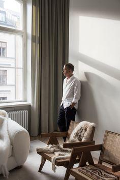 Hemma hos prisade arkitekten Andreas Martin-Löf i Vasastan | Residence