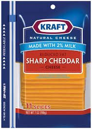 Kuvahaun tulos haulle GRAND'OR cheddar red natural cheese 8 slices