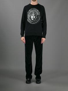 VERSACE - Medusa logo sweater 7