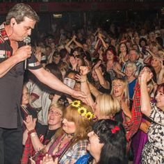Bay City Rollers' frontman Les McKeown talks to entertainment writer Wayne Savage about fame, the importance of a positive attitude and how the years slide away on stage. Red Tartan Scarf, Les Mckeown, Royal Stewart Tartan, Bay City Rollers, Fleece Scarf, Special Olympics, Scottish Tartans, Teenage Dream, Polar Fleece