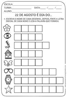 Atividade pronta - Folclore - A Arte de Ensinar e Aprender Words, Reading Activities, Initials, 1st Grades, Lyrics, Writing, Index Cards, Horse