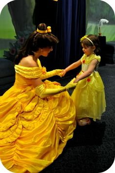 My Fancy Princess Deluxe Belle Dress Review @Lisa Phillips-Barton Choe Mom Reviews
