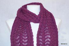Crochet shawl microfiber shawl lace crochet shawl by MaKatarina