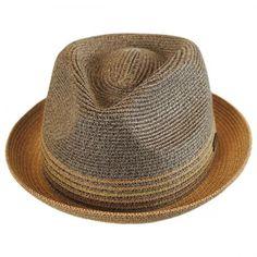 00f8ad9f153 Bailey Hooper Toyo Straw Blend Trilby Fedora Hat Brim Hat, Fedora Hat,  Beret,
