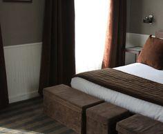 J\'aime cette photo sur Deco.fr ! Et vous ? | Chambres marron ...