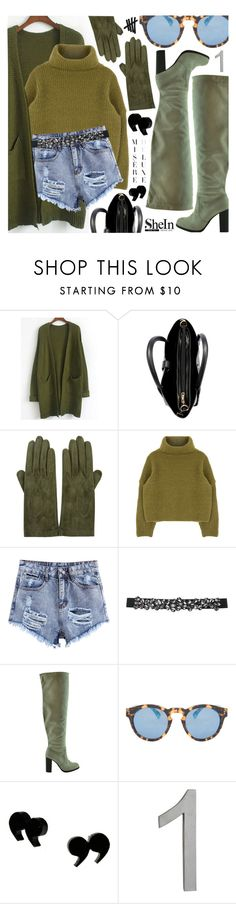 """""""Make it count!"""" by pastelneon ❤ liked on Polyvore featuring Sermoneta, M&Co, Illesteva and CB2"""