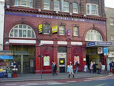Goodge Street Station - home