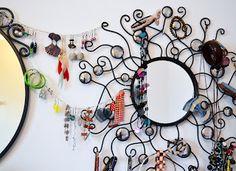 sundaymorning: come organizzare i propri orecchini / earrings organize