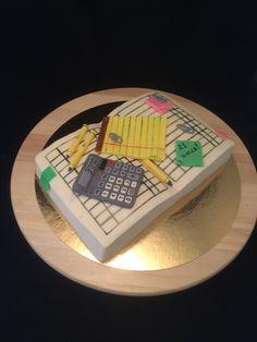 Finance cake, cake for accountant